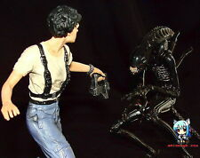 Movie Classic Alien 2 Ripley VS Alien Xenomorph set 1/8 Vinyl Model Kit 8 inch.