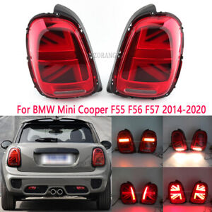 LED Rear Tail Brake Light Lamp For BMW Mini Cooper F55 F56 F57 2014 2015 16-2020