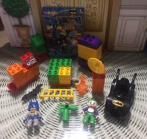 The Joker Challenge 10544 with Manual Lego Duplo BATMAN DC Super Heroes