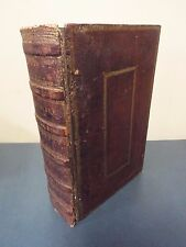 1798 First Hot Press Bible - Elephant Folio