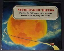 1953 Studebaker Truck Sales Brochure Folder Stake Excellent Original 53