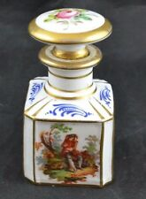 Serves Toilet Water Paneled Bottle Scholar Smells Perfume Mark Double L with S