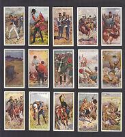 CIGARETTE CARDS. John Player Tobacco. VICTORIA CROSS. (Full Set of 25). (1914).
