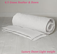 Classic summer Lightweight Goose Feather and down 4.5 Tog Duvets