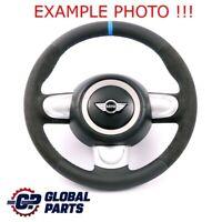 Mini Cooper One R56 R60 Neuf Noir/Alcantara Cuir Volant Sport 3 Rayons