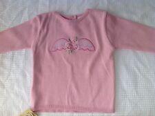 BNWT Ladybird Pink Flower Jumper 3-6mths