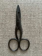 Vintage H. Boker & Co. Button Hole Scissors Sewing Embroidery Made In Germany 4�