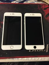 Lot of 2 Apple iPhone 6 Plus - 16Gb - Silver (A1522) (A1524)