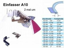 Einfasser a10 pour bande 34 Mm à fini largeur 9 mm; pour de nombreux approche rapidement!!!