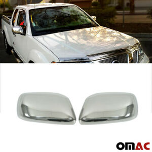 Fits Nissan Frontier 2005-2021 Stainless Steel Chrome Side Mirror Cover Cap Set