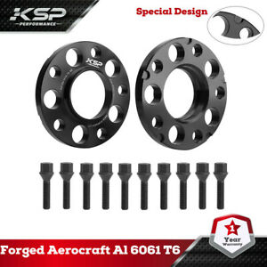 KSP 2PC 15mm 5x120mm Hubcentric Wheel Spacers 72.56mm CB For BMW E36 E82 E88