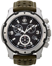 T49626 - Timex Mens Black Green Expedition Rugged Field