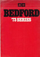 Three 1973 BEDFORD TRUCK Australian GMH Spec Sheets in Folder J5 KHL KHM & KD