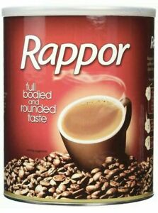 Rappor Instant Coffee Granules 750g Roast Tin: Full Bodied Rounded Fresh Taste