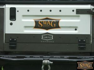 SWAG Jeep Wrangler 97-02 TJ Steel Drop Down Tailgate Conversion Kit