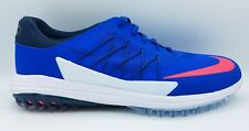 Nike Lunar Control Vapor Golf Shoes Blue White Jay Red Pink 849971-401 Size 10.5