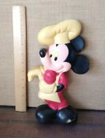 Vintage -- Mickey Mouse Ice Cream Hard Plastic Wall Hanging Disney