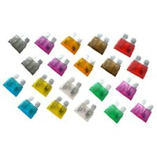 20 x STANDARD (ATO) Blade Type Fuses - ASSORTED - Car, Motorcycle, Automotive