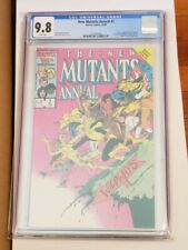 New Mutants Annual #2 CGC 9.8 - 1st Psylocke - Captain Britain - White Pages!