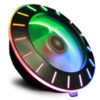 Colorful UFO RGB LED CPU Cooling Fan Universal Radiator For Intel / AMD Socket