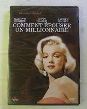 DVD COMMENT EPOUSER UN MILLIONNAIRE - Marilyn MONROE / Lauren BACALL - NEUF