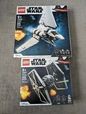 LEGO 75302 & 75300 - Star Wars Imperial Shuttle & Imperial Tie Fighter - NIB