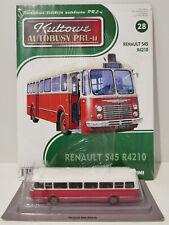 IXO IST RENAULT S5 R4210 Kultowe Autobusy PRL-u 1:72 no.28 polis saviem fiat