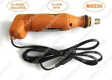 High Precision PCB Drill Machine - MICRODRILL MB230 + 2 Colletes + Drill Bits !!