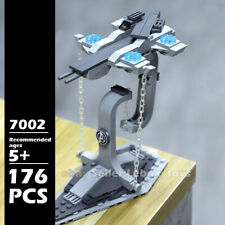 Building Blocks Bricks Floating Spaceship Tensegrity Balance DIY Creativity Toys