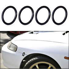 4x Rubber Car Bumper Fender Quick Release Fastener Replacement O-Ring Band Kit