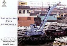 1:87 H0 Eisenbahnkran RK 3 Bleichert ZZ Exclusive Modell DDR DR railway crane