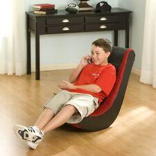 Playing Gaming Rocking Chair Kids Teen Game Furniture Rocking Padded Rocker Gift