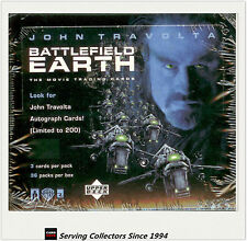 Entertainment Trading Cards Box: Battlefield Earth Movie Card Box (36)