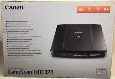 CANON CanoScan LiDE 120 Flatbed Scanner USB 2.0 2400 x 4800 DPI Black