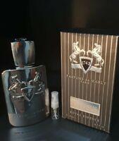 PARFUMS DE MARLY PEGASUS EDP 2ML PERFUME SAMPLE IN GLASS ATOMISER SPRAY NEW