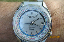 SEIKO 6217-7010 NAVIGATOR GMT WORLD TIME AUTOMATIC AUGUST 1966 ASIAN GAMES RARE