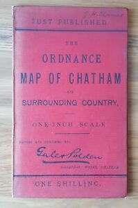 """Gale & Polden's """"Ordnance Map of Chatham and Surrounding Country"""""""