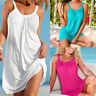 Sexy Women Summer Casual Sleeveless Evening dress Beach Dress Short Soft Dress