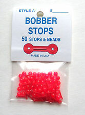 Bobber Stops and Beads - 2 Hole - Style A - 50 Per Pack - Stops & Beads
