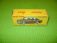 DINKY TOYS 531 FIAT 1200 GRANDE VUE BOITE VIDE D'ORIGINE-EMPTY BOX