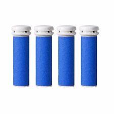 4 Extra Coarse Pedicure Refill Rollers Comp/w Emjoi Micro-Pedi Callus Remover