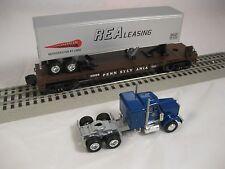 Lionel #6-26098 Pennsylvania Flatcar w/Tractor Trailer & Truck