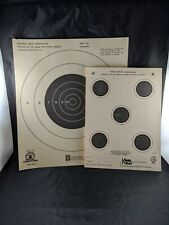 Vintage  Official NRA Small Bore Rifle Target