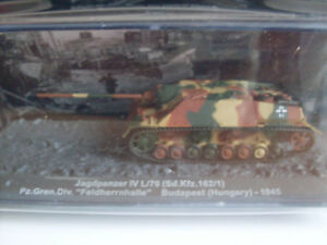 Jagdpanzer IV L/70 (Sd.Kfz.162/1) Budapest 1945, Militaire Modèle Magazine 1 :