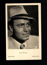 Paul Klinger film-foto-Verlag 30er anni cartolina N. a 3473/1 + P 6516
