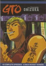 GTO Great Teacher Onizuka Complete TV Series | Anime | Episodes 1-43 (DVD)