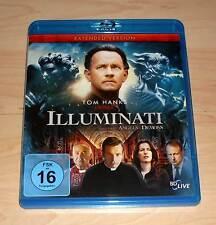 Blu Ray - Illuminati - Extended Version - Tom Hanks ( Blueray Bluray )