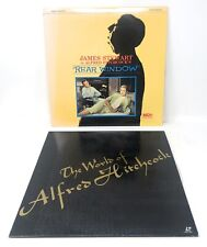 Alfred Hitchcock Laserdisc LD Lot Of 2 Japan Edition The World Rear Window