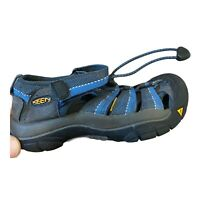 Keen Big Kids Newport H2 Blue Waterproof Sandals 8212 Boy's Size 13
