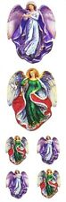 ~ Angels Religious Vintage Angel Paper House StickyPix Stickers ~